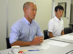 山口さんと金子さんの写真